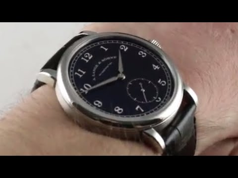 A. Lange & Sohne 1815 200th Anniversary Limited Edition 236.049 Luxury Watch Review