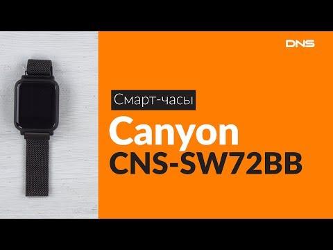 Распаковка смарт-часов Canyon CNS-SW72BB / Unboxing Canyon CNS-SW72BB