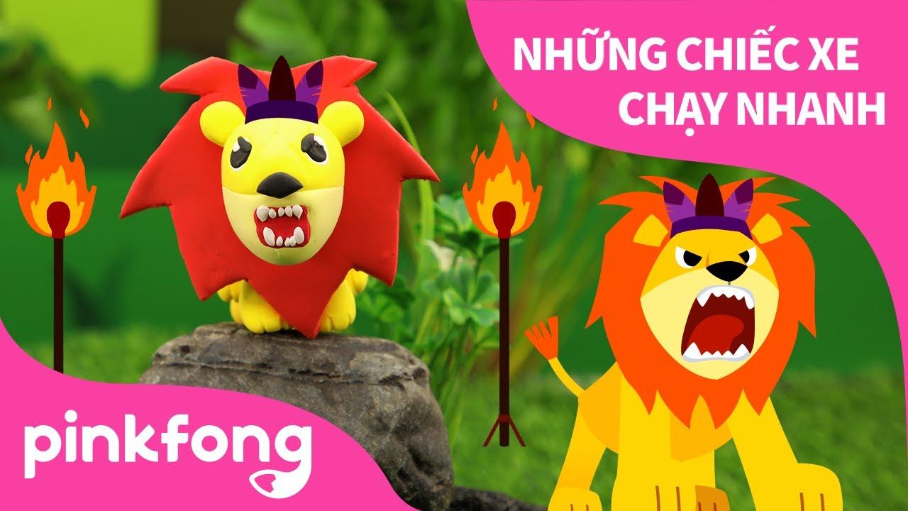Sư Tử và làm Sư Tử bằng đất sét | Bài hát về Động Vật | Pinkfong! Những bài hát cho trẻ em