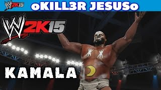 WWE 2K15  Kamala - Entrance OMG Finisher I Community Creations PS4 XBOX ONE