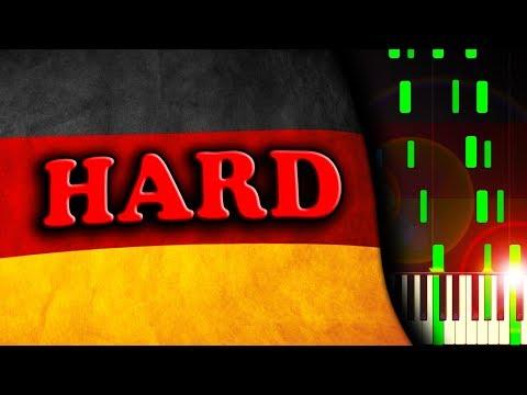 DEUTSCHLANDLIED - German National Anthem - Piano Tutorial