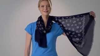 Talbots How to Tie a Scarf: 6 Ways!