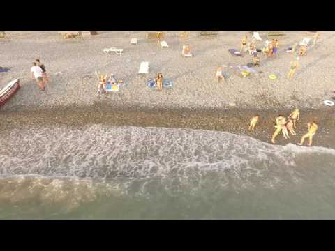 лоо пляж горный воздух