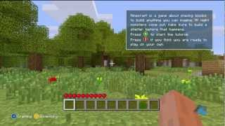 Minecraft - Xbox 360 Edition (Demo Gameplay)