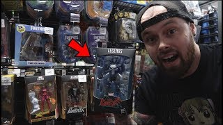 TOY HUNTING AT GAMESTOP FOR BRAND NEW MARVEL LEGENDS WAR MACHINE PUNISHER, POWER RANGERS AND MORE!