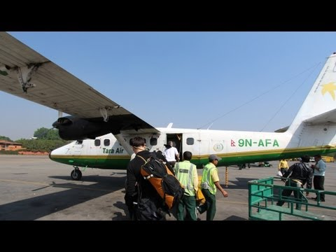Kathmandu to Lukla - Flight Footage