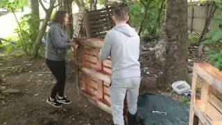 How To Build A Pallet Den With Baltic Street