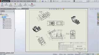 SolidWorks 2014 Tutorial | The Drawing Environment