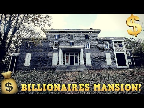 Abandoned Mansion of Du Pont Family!
