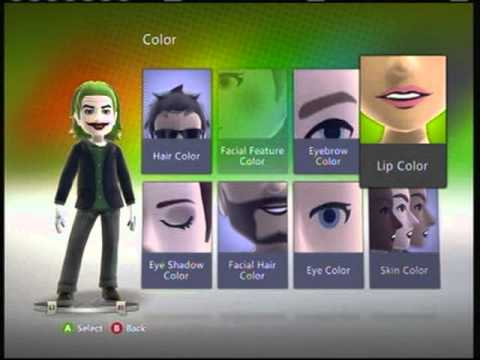 Télécharger xbox 360 batman avatar
