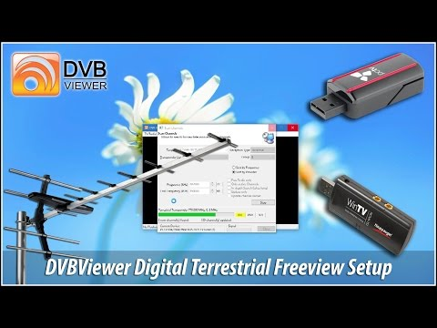 DVBViewer Pro Digital Television Freeview Setup