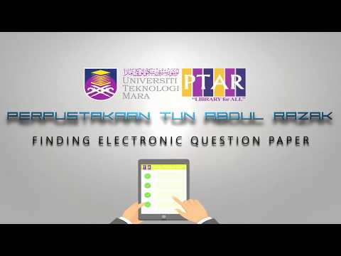 ELECTRONIC QUESTION PAPER SYSTEM (EQPS) - LIBRARY GUIDE