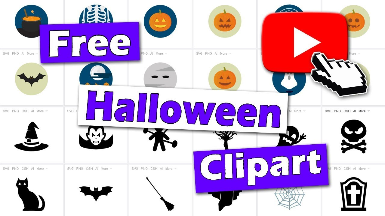 where to find free halloween clipart [ 1280 x 720 Pixel ]