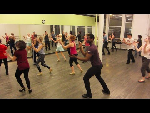 "Ray Hesselink Tap Choreography at STEPS  ""Red Bank Boogie"" Count Basie"
