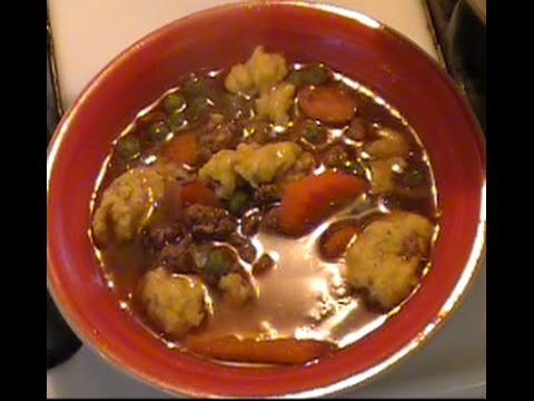 Beef Dumpling Soup Recipe | Delicious AND Filling!