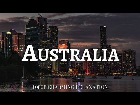 Download FLYING OVER AUSTRAILIA (1080P HD) - Relaxing Music With Stunning Beautiful Nature (1080P Ultra HD)