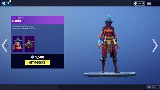 Fortnite item shop (11-16-18 ) New * Castor and Elmira skins* !!!!!!