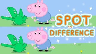 Peppa Pig App | World of Peppa Pig - Spot the Difference | Game for Kids thumbnail