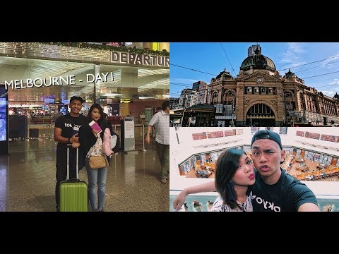 AIPORT (MIS)ADVENTURES, STATE LIBRARY OF VICTORIA & FLINDERS STREET / MELBOURNE 2017 DAY 1