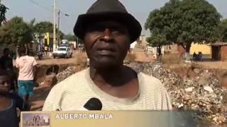 Lunda-Norte: Residências correm o risco de desaparecer devido Ravinas | TV Zimbo |