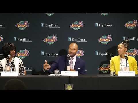 Los Angeles Sparks Introduce Head Coach Derek Fisher