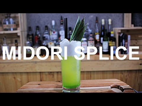 Midori Splice Cocktail Recipe + 5 X COCKTAIL SHAKER WINNERS!!
