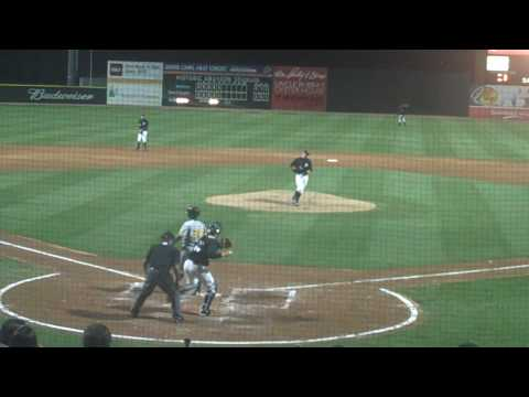 James Fuller strikeout inside fastball.MP4