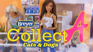 Unbox Daily: Breyer Collect A | Cats and Dogs | PLUS DIY Animal Shelter