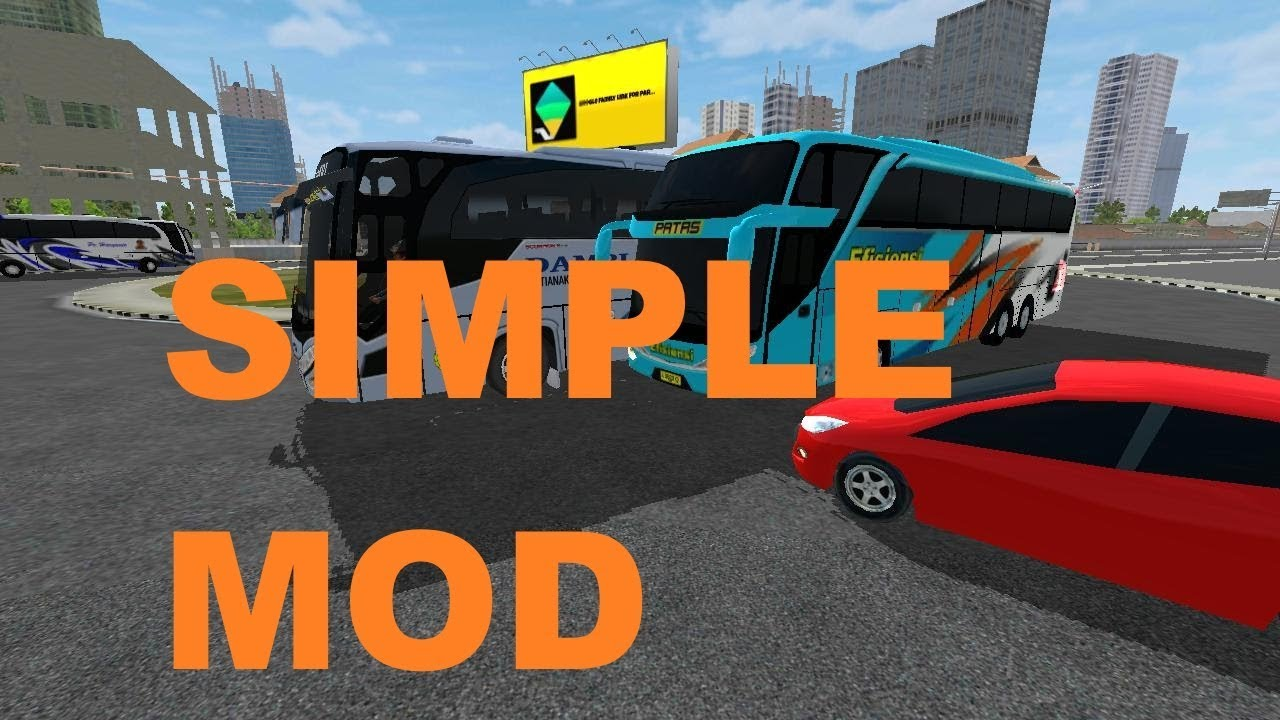 BUSSID Mod (new traffic Mix) link BACA DESKRIPSI Bus Simulator Indonesia 2.8.1 #1