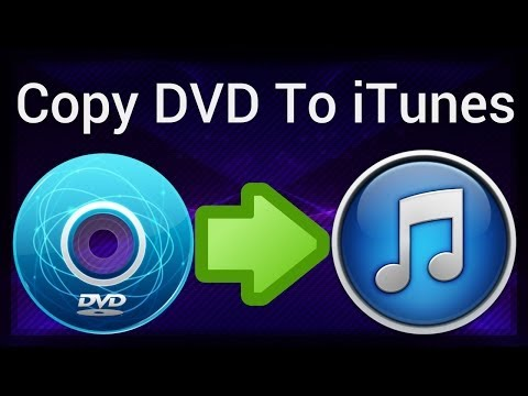 How To Copy Any DVD To ITunes (Mac X DVD Ripper Pro)