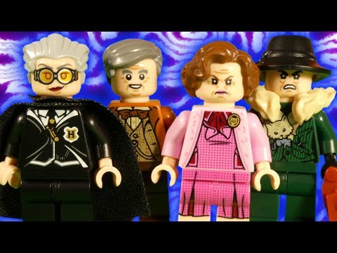 LEGO HARRY POTTER BRICKTOBER MINIFIGURE COLLECTION - STOP MOTION REVIEW - 5005254
