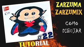 TUTORIAL COMO DIBUJAR UN VAMIPIRO KAWAII FACIL Y RAPIDO # 22