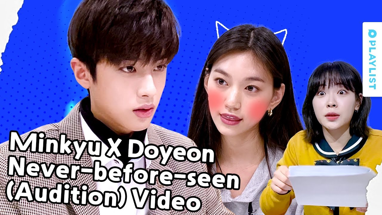 Minkyu X Doyeon Never-before-seen Video | POP OUT BOY! |  (Click CC for ENG sub)