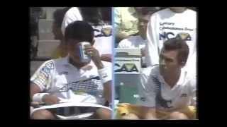 松岡修造VSレンドル5-1 1990年ジャパンオープン