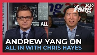 Andrew Yang on All In with Chris Hayes (Full Interview)