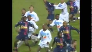 Marseille - Paris SG 2004 résumé