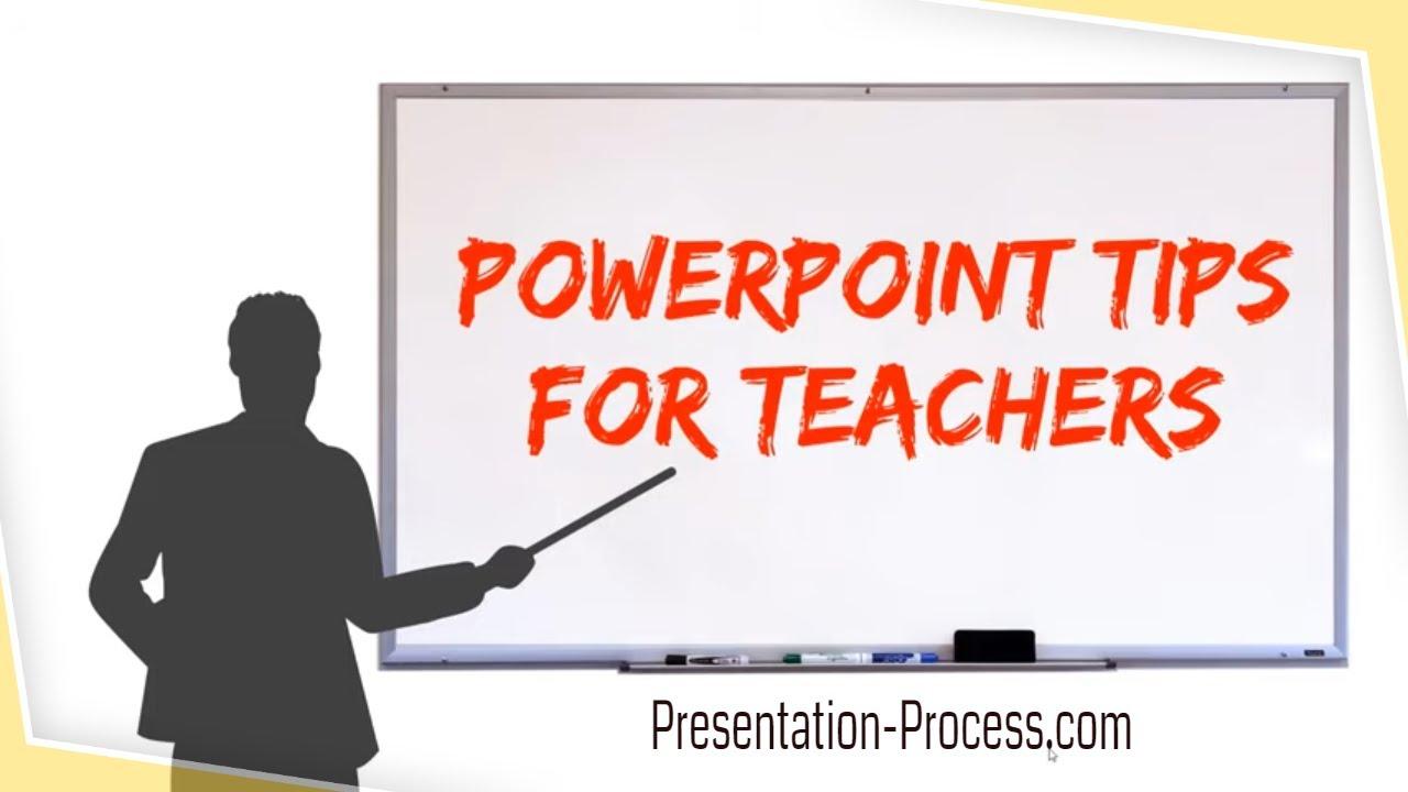 9 PowerPoint Tips for Teachers