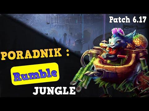 PORADNIK Rumble JUNGLE - League of Legends (Patch 6.17)