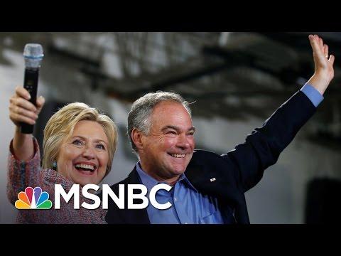Hillary Clinton Picks Sen. Tim Kaine For VP | All In | MSNBC