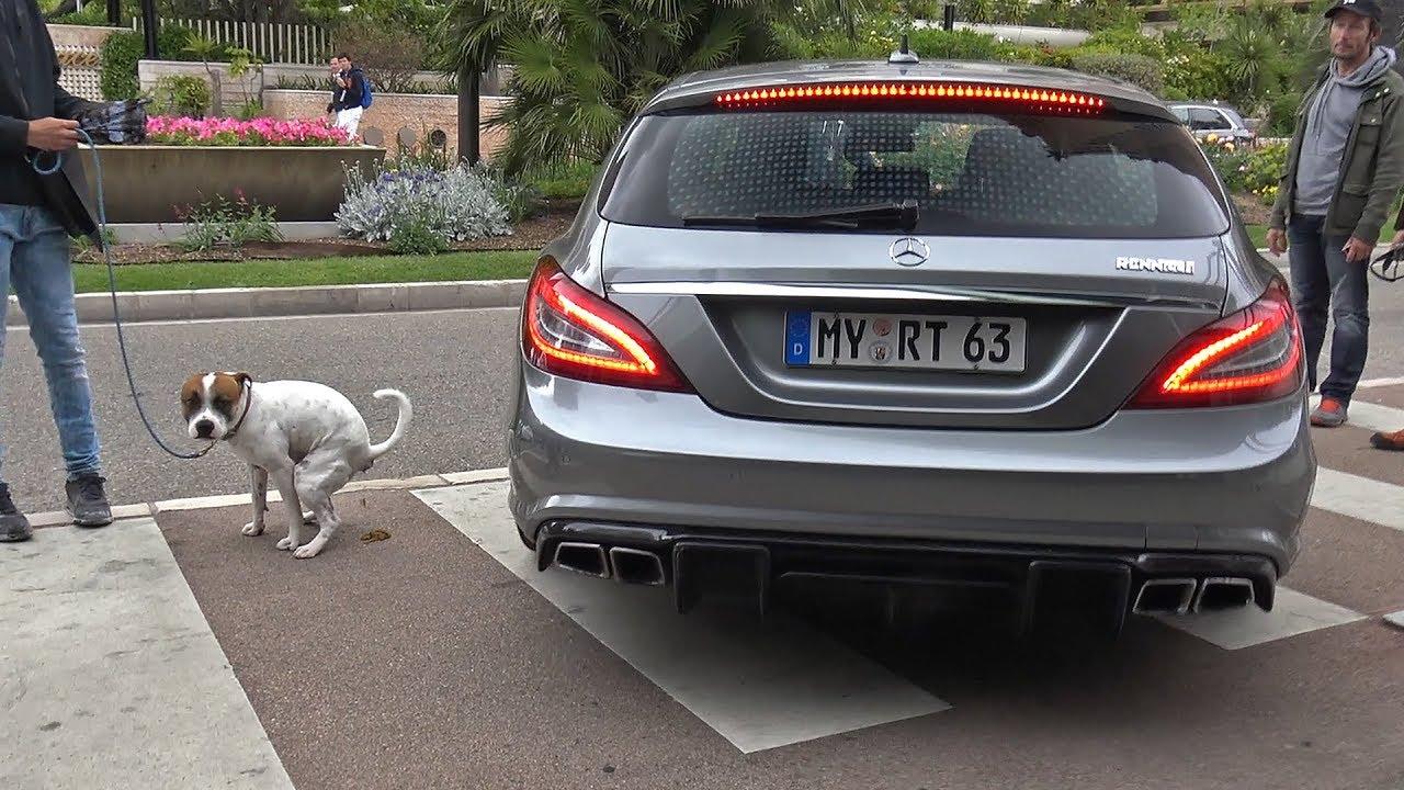 740hp Renntech Mercedes Benz Cls63 Amg Shooting Brake Youtube