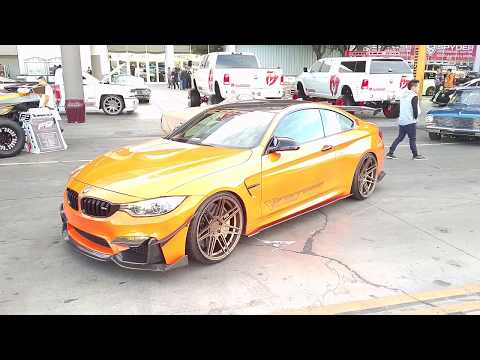 877-544-8473 20x11 Ferrada FR-6 Bronze Rims BMW M4 M3 M5 Sema Show
