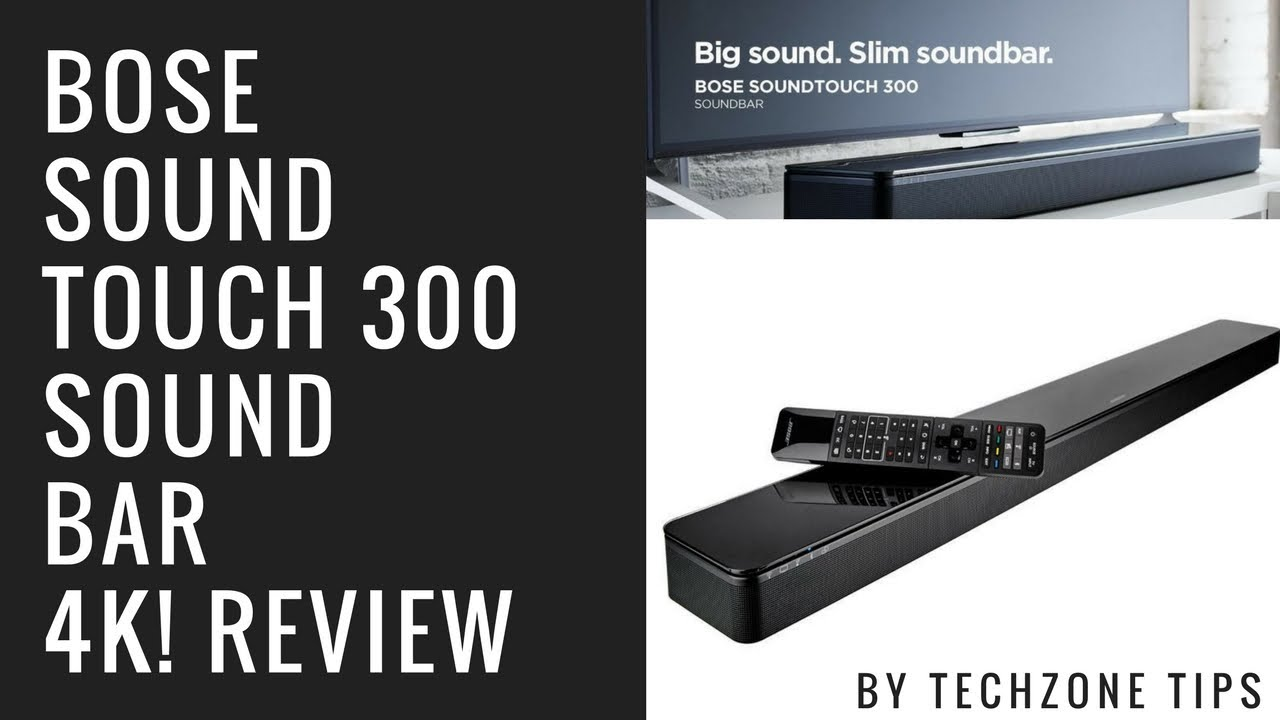 bose soundtouch 300 sound bar review new 2017 youtube. Black Bedroom Furniture Sets. Home Design Ideas
