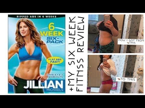 Jillian Michele's👉🏽SIX WEEK•SIX PACK + Results