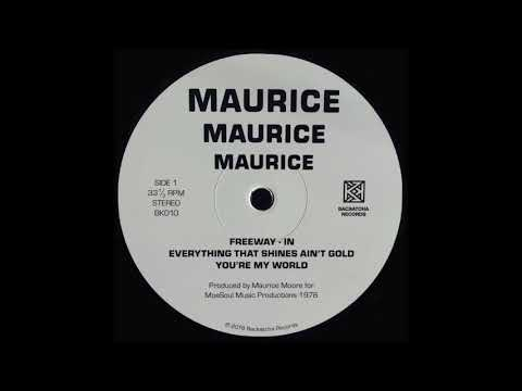 Maurice Moore - 'Freeway' (1976) Backatcha Records