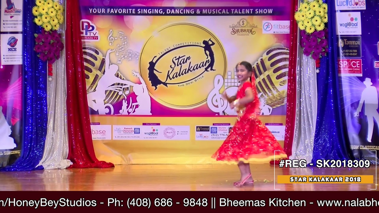 Registration NO - SK2018309 - Star Kalakaar 2018 Finals - Performance