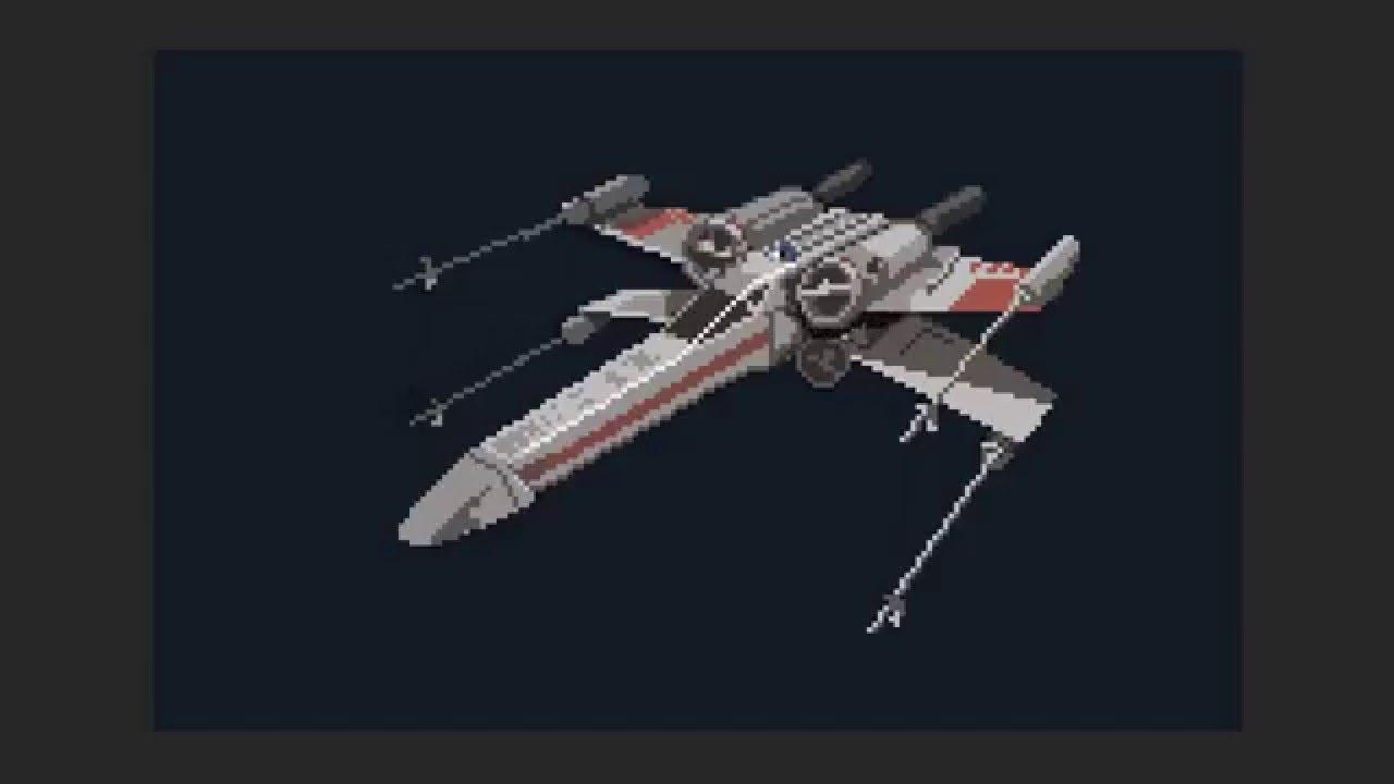 Pixelart X Wing