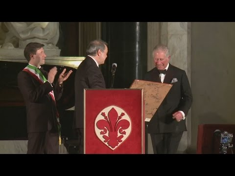 Prince of Wales given Man of the Renaissance award in Italy