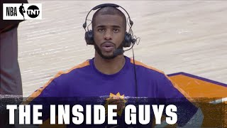 Chris Paul Joins Inside the NBA After the Suns Take Down Golden State | NBA on TNT