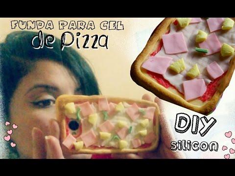 Diy funda para celular de pizza silicon youtube - Como hacer fundas de silicon ...