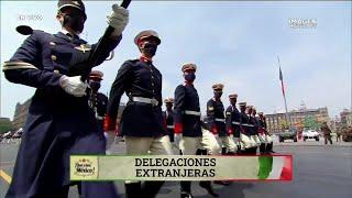 Delegaciones extranjeras   Desfile Militar